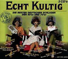 Echt kultig 2-Die besten deutschen Schlager der 60er & 70er Drafi Deuts.. [3 CD]