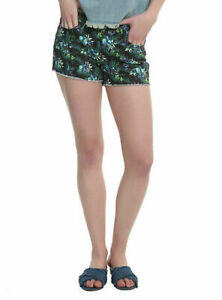 DISNEY LILO & STITCH TROPICAL PRINT SHORTS size 0   1    JRS NWT LICENSED