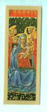 BOOKMARK Parnassus Gallery London Jesus Child Xmas Card Virgin Mary Fra Angelico