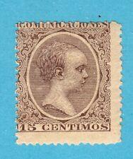 ESPAÑA 1889-1901 EDIFIL 219** ALFONSO XIII TIPO PELÓN