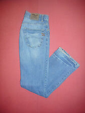 ARMANI Exchange-W 30 L 34-Jeans Denim Blu Da Uomo-Button-Fly-B496
