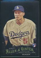 2016 Topps Allen & Ginter X #121 Corey Seager RC Rookie Los Angeles Dodgers
