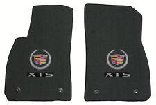 New LLOYD 2pc Front Ebony Floor Mats  fits 2013-2015 Cadillac XTS double logo