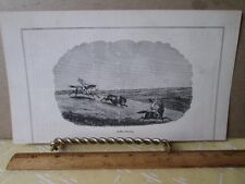 Vintage Print,BUFFALO HUNTING,Not Colored