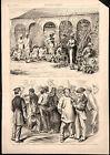 Registering Black voters after Civil War D.C. flower black sellers 1870 print