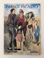 PICASSO,MEGA RARE 1993 AUTHENTIC TASCHEN  POSTER BOOK, SET OF 6 POSTERS