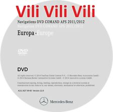 Mercedes NTG1 DVD Comand Aps Europe v12 2012 Navigation DVD CL- SL- S-Class