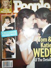 TOM CRUISE & KATIE HOLMES WEDDING people JESSICA SIMPSON denzel washington