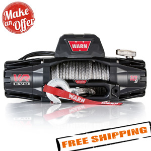 Warn 103253 VR EVO 10-S 10,000 lbs Winch with Synthetic Rope