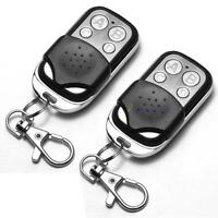 2x Universal Clonage télécommande porte-clé pour garage de voitures 433mhz OE