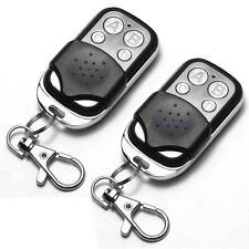 2x Universal Clonage télécommande porte-clé pour garage de voitures 433mhz DC