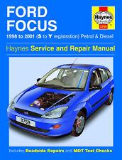HAYNES SERVICE & REPAIR MANUAL FORD FOCUS 1998-2001 S to Y PETROL & DIESEL 3579
