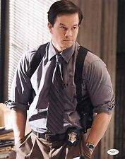 """MARK WAHLBERG SIGNED 11""""X14"""" PHOTO DEPARTED JSA AUTHENTICATED E64131"""
