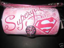 SUPERGIRL ROUND CYLINDER TOTE BY VANDOR super girl hero