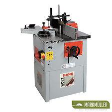 Holzmann Tischfräsmaschine FS 160L Fräsmaschine + Wechselspindel Tischfräse