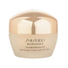 1PC Shiseido Benefiance WrinkleResist24 Night Cream 1.7oz,50ml Wrinkle Line