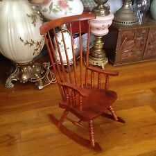 Three Hands Corp. Mini (Replica) Wooden Rocking Chair, #96041