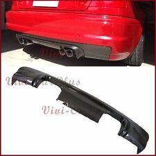 Carbon Fiber C Type Rear Diffuser Fit BMW 01-06 E46 M3 Coupe Convertible Bumper