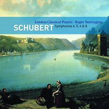 London Classical Players - Schubert: Symphonies Nos. 4,5,6,8 [CD]