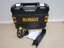 DEWALT DCE088 10.8V XR GREEN CROSS LINE LASER BARE UNIT + BRACKET & TSTAK CASE