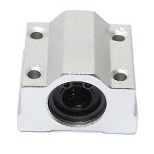 SCS10UU 10mm Linear Motion Ball Bearing Slide Bushing Block Silver M9J3