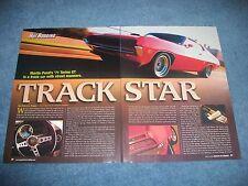"1971 Ford Torino GT RestoRod Article ""Track Star"""