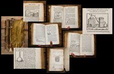 1554 Medizin Medicine Chemie Destillation Wein Wine Alchemy Alchemie Gessner
