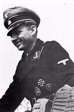 WW2 - Lieutenant Michael Wittmann commandant d'une unité de chars Tigre