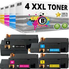 4x XL TONER für DELL 1250C 1350CNW 1355CN 1355CNW C1760NW C1760NF C1765NFW SET