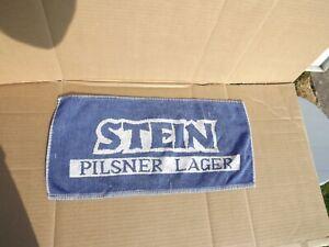 VINTAGE STEIN PILSNER LAGER BAR BEER TOWEL BREWERIANA 913