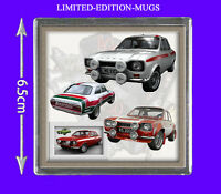 FORD ESCORT MK1 RALLY CLASSIC CAR FRIDGE MAGNET GIFT, MEXICO, RS2000, ETC