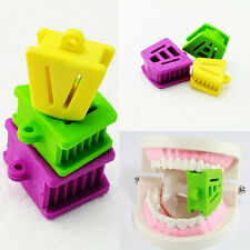 3X Dental Silicone Mouth Bite Block Rubber Mouth Opener Cheek Retractor Prop CAZ