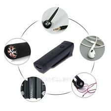 Clip on Sports Bluetooth 3.0 Wireless Headset Earphone With Mic Audio Adapter