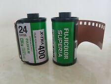 10 Rolls Fujicolor Negative 35mm Print Film ISO400 24exp