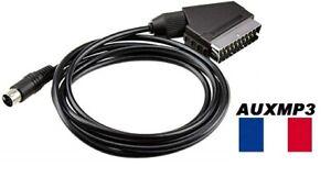 Câble péritel Sega Megadrive 2 RGB cordon Mega Drive II MD2 - NEUF pal