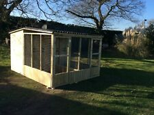 dog shed + run 10ft x 8ft ( double ) £595
