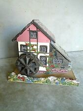 Vintage, Victorian Water Mill Music Box. By Reuge.  VGC