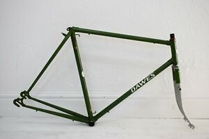 1970s DAWES GALAXY 60CM VINTAGE REYNOLDS 531 STEEL BICYCLE FRAME