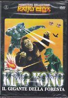 Dvd KING KONG IL GIGANTE DELLA FORESTA vs MECHANI KONG nuovo 1967