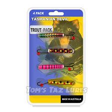Taz Lure Trout Multipack Tasmanian Devil Fishing Lure TomsTazLures