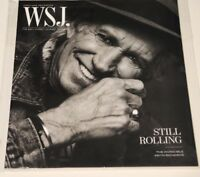 WSJ The Wall Street Journal Magazine March 2018 issue 93 Keith Richards Rolling