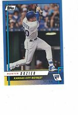 2017 Topps Rookie Class Blue Parallel #19B Hunter Dozier Kansas City Royals /49