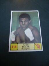 PANINI Campioni dello Sport 1968-69 #316 BOXING Josè Legra