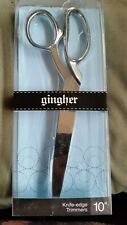 """Gingher 10"""" knife-edge trimmers"""