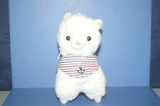 "Arpakasso Alpacasso Vacation Marine White Alpaca Plush Doll JAPAN 6.4""×5.2"""
