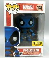 🔥Funko POP! Marvel #141 Foolkiller Deadpool Blue Hot Topic Exclusive RARE