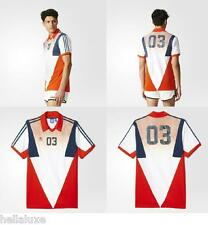 ~Adidas Originals FOOTBALL HERITAGE Jersey Soccer Superstar Shirt Top~Men sz 2XL