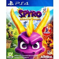 Spyro Reignited Trilogy PS4 Region Free NEW | SEALED