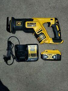 DeWalt DCS367 20v Max Brushless Compact Reciprocating Saw Kit (5.0 Ah)