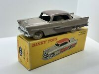 DINKY TOYS 24d PLYMOUTH BELVEDERE VERY RARE COLOR MARRÓN MADE IN FRANCE Original